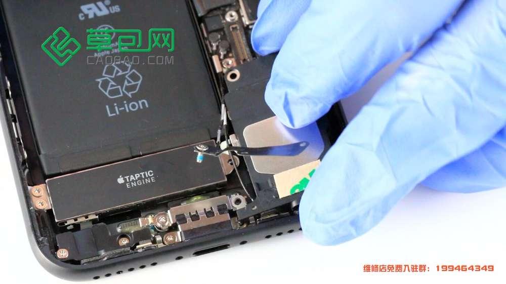 iPhone7拆机换扬声器 图文教程之装机篇